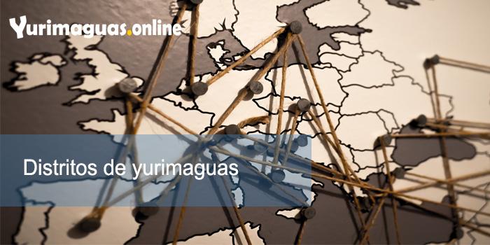Distritos de yurimaguas